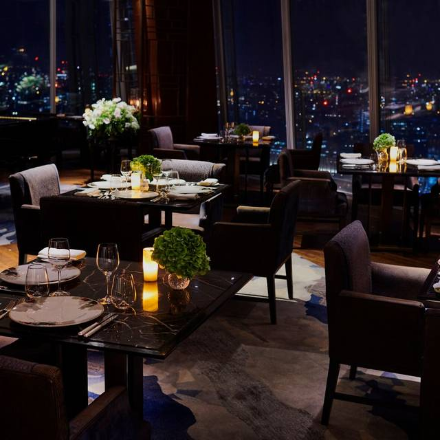 Interior - Ting Restaurant, Shangri-La At The Shard, London
