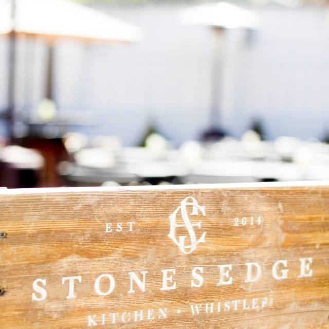Stonesedge Kitchen, Whistler, BC
