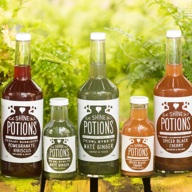 Full Lineup Of Potions - Shine Restaurant & Potion Bar, Boulder, CO
