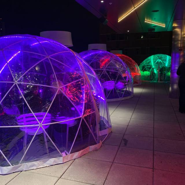 Igloos @ Lookout Rooftop Bar Restaurant - Boston, MA | OpenTable