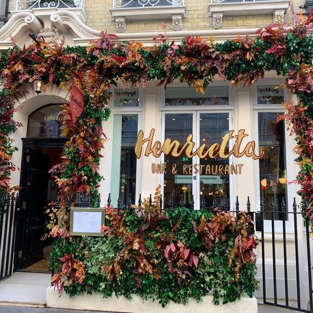 Outdoor - Henrietta Bistro, London