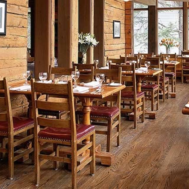Mount Burgess Dining Room - Emerald Lake Lodge, Field, BC
