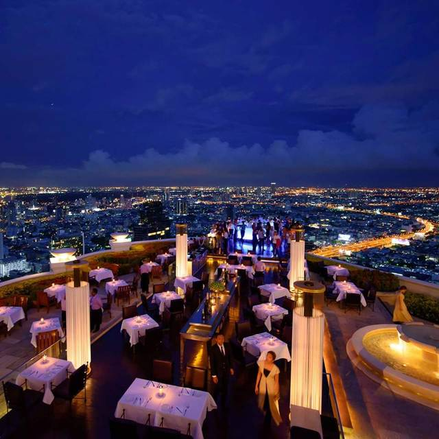 Outdoor - Sirocco – Tower Club at lebua State Tower, Bang Rak, Bangkok
