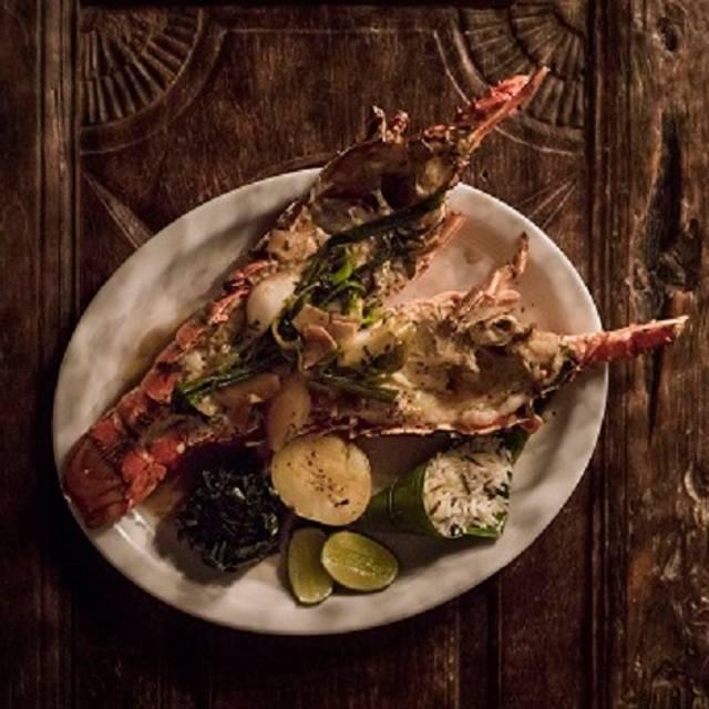 Lobster Oriental Style - Pandano, Tulum, ROO