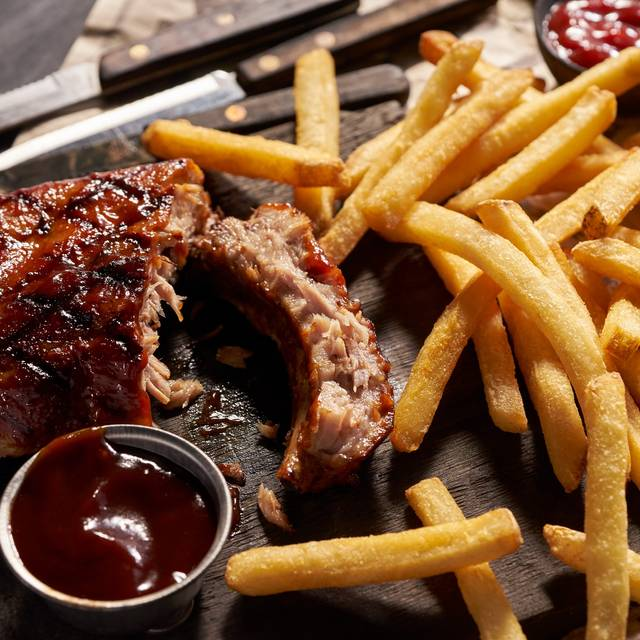 Rack Of Ribs - Black Angus Steakhouse - Fountain Valley, Fountain Valley, CA