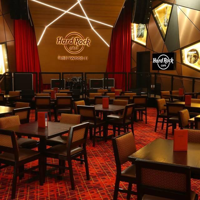 Stage - Hard Rock Cafe - Hollywood FL, Hollywood, FL
