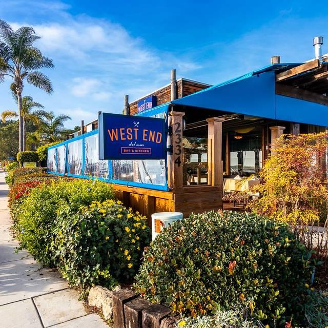 West End Bar & Kitchen, Del Mar, CA