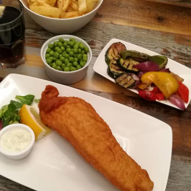 Hobson's Fish and Chips Restaurant, London