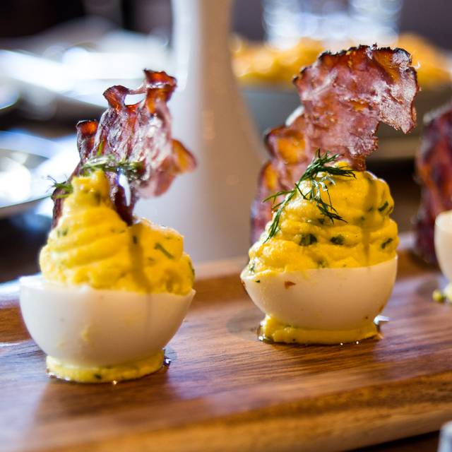 Deviled Eggs - Shaquille's, Los Angeles, CA