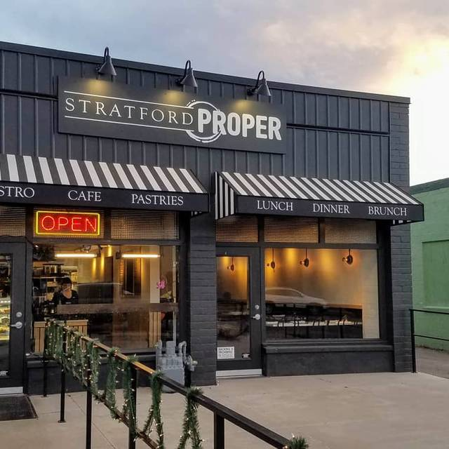 Stratford Proper Cafe & Bistro, Salt Lake City, UT