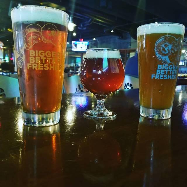 Beer Trio - Ram Restaurant & Brewery - Indianapolis, Indianapolis, IN