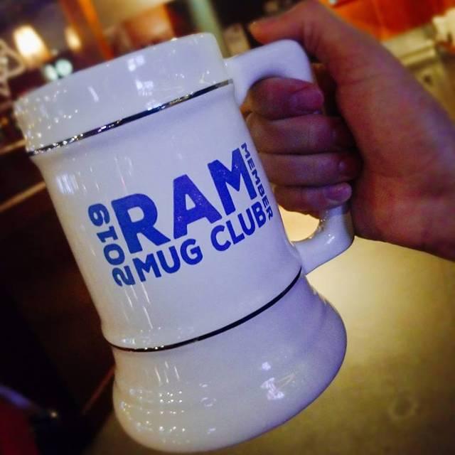 Mug Club - Ram Restaurant & Brewery - Indianapolis, Indianapolis, IN