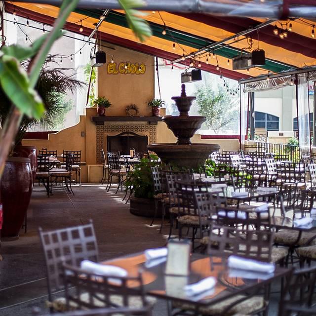 Patio - El Cholo Cafe, Pasadena, CA