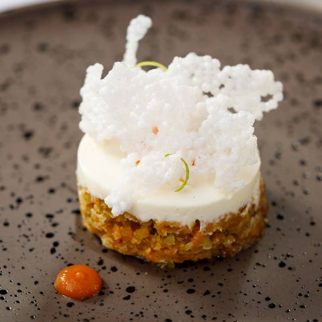 Carrot & Almond Cake  Cream Cheese  Carrot & Ginger Jam  Tapioca Crisps - Suesey Street, Dublin, Co. Dublin