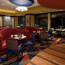 photo of the harbor room at renaissance mobile riverview plaza hotel restaurant