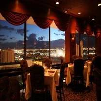 photo of top of binion's steakhouse restaurant