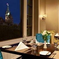 photo of wilfrid's restaurant - fairmont chateau laurier restaurant
