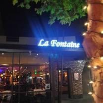 photo of la fontaine restaurant restaurant