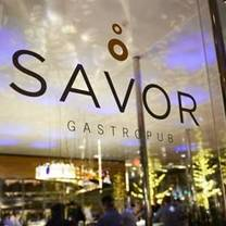 photo of savor restaurant