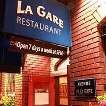 photo of la gare french restaurant restaurant