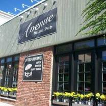 photo of avenue bistro pub restaurant