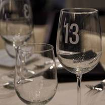 photo of table 13 restaurant