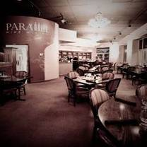 photo of parallel wine bistro restaurant