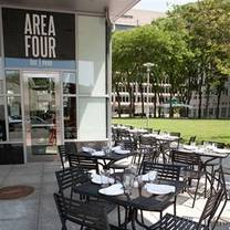 photo of area four cambridge restaurant