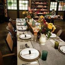 photo of the market table at cecil creek farms restaurant