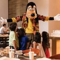 photo of good morning breakfast with goofy and his pals restaurant