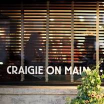 photo of craigie on main restaurant
