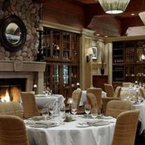 photo of the grill room at the fairmont chateau whistler restaurant