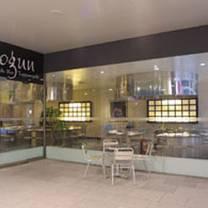 photo of shogun sushi / noodle bar restaurant
