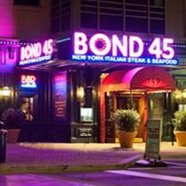 photo of bond 45 - national harbor restaurant