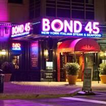 foto de restaurante bond 45 - national harbor