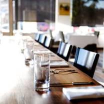 photo of communal restaurant