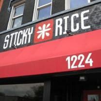 photo of sticky rice restaurant