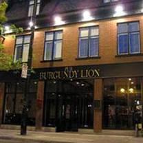 photo of pub burgundy lion restaurant