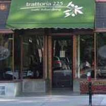 photo of trattoria 225 restaurant