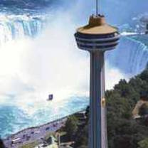 photo of skylon tower revolving dining room restaurant