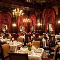 photo of the brandy wine room at hotel du pont restaurant