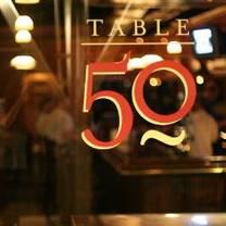photo of table 50 restaurant
