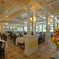 photo of palm court at the carltun restaurant