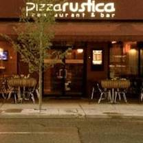 photo of pizza rustica restaurant & bar restaurant