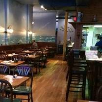 photo of out of the blue restaurant