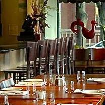 photo of corner table restaurant