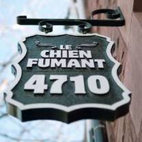 photo of le chien fumant restaurant