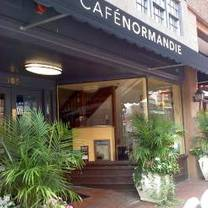 photo of cafe normandie restaurant