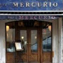 photo of bar mercurio toronto restaurant