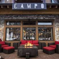 photo of campo - mammoth restaurant